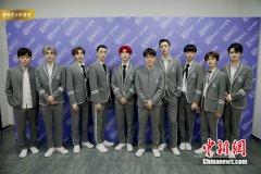 《偶像练习生》见面会 20强选手重演经典节目